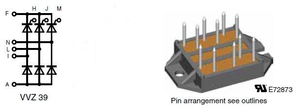 VVZ39-12ho7, Трехфазный